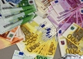 a1. Counterfeit euro banknotes of various denominations and classes