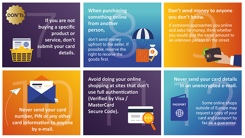 37ec2d674a3 Golden Rules - Safe Online Shopping | Europol