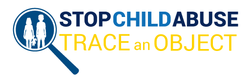 Stop Child Abuse - Trace An Object logo