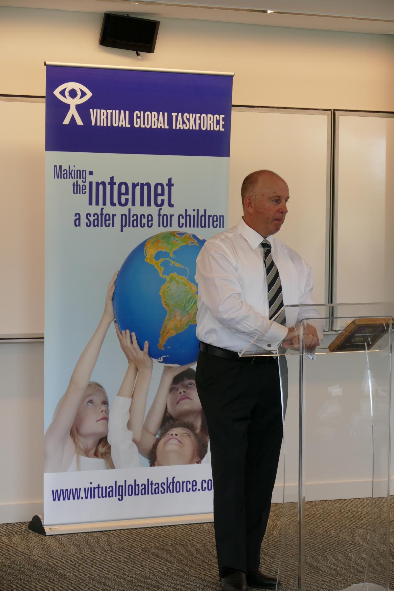 Australian Federal Police Deputy Commissioner Neil Gaughan