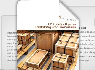 2015 Situation Report on Counterfeiting in the European Union Cover photo