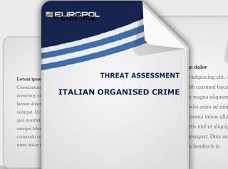 italian organised crime threat assessment report cover