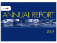 Annual Report 2007 cover photo