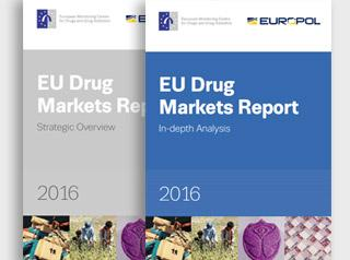 EU drug markets 2016 report cover photo