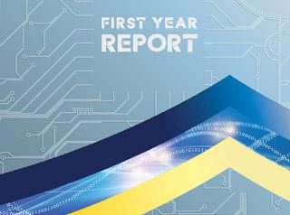 First year report cover photo