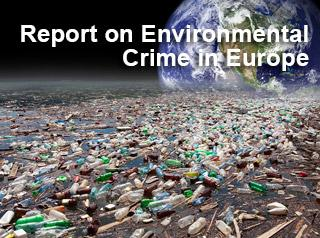 report on environmental crime in Europe Cover image