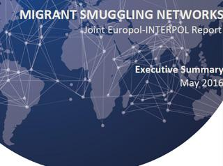 Migrant smuggling networks report cover image