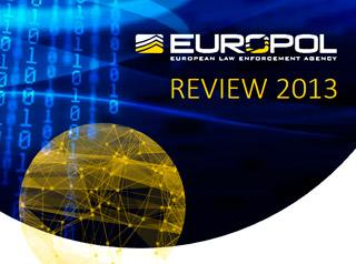 europol review 2013 cover photo