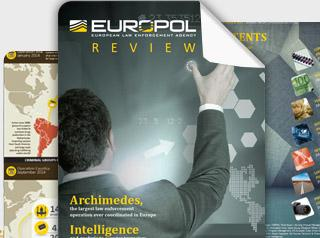 Europol Review 2014 cover