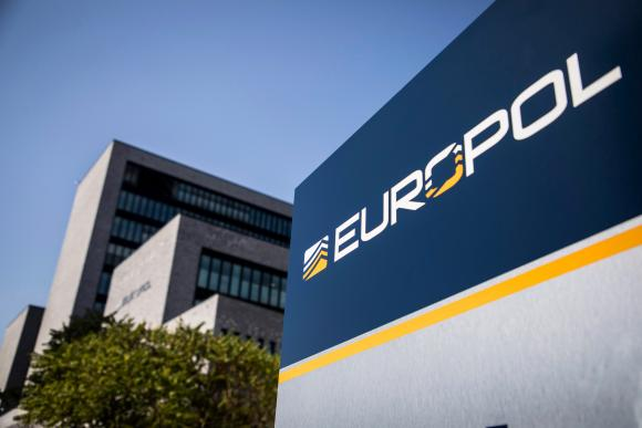 Europol's headquarters, The Hague, The Netherlands.