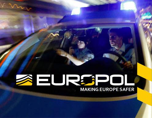 Europol Making Europe safer police car photo