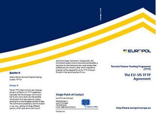 Q&A: The EUUS TFTP agreement - Brochure cover photo