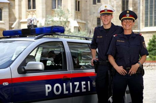 Austria police officers